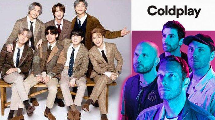 BTS dan Coldplay Umumkan Kolaborasi, Rilis Single Berjudul 'My Universe' September 2021 Ini