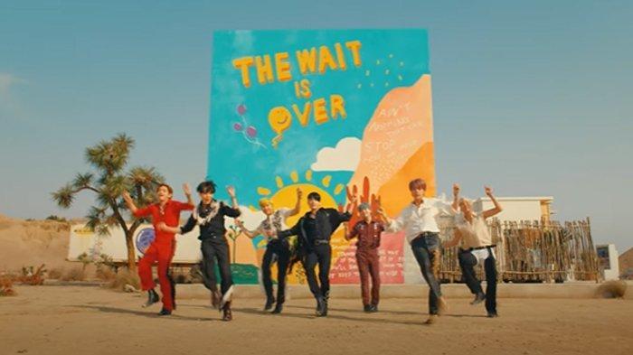 BTS rilis video musik Permission to Dance.