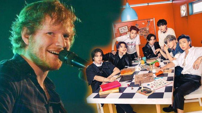 BTS Umumkan Judul Lagu Terbarunya yang Ditulis Ed Sheeran, Rilis bersama CD Butter 9 Juli 2021