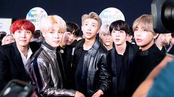 BTS di American Music Award 2017 Kelewat Ganteng, 6 Ekspresi Konyolnya ini Jatuhkan Wibawa Mereka!