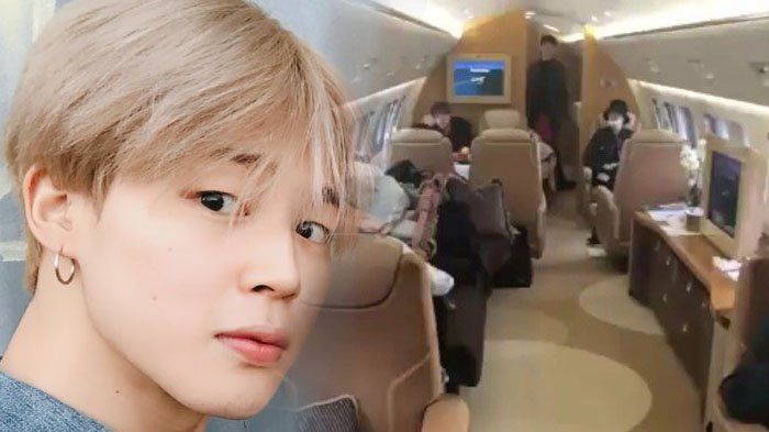 BTS Rayakan Ulang Tahun Jimin di Pesawat, Mewahnya Jet Pribadi Mereka Jadi Sorotan!