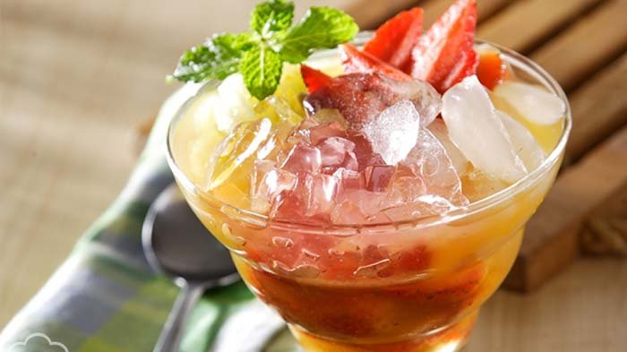 4 RESEP Es Buah Segar, Minuman Menyegarkan saat Cuaca Sedang Panas, Sehat dan Praktis Buatnya