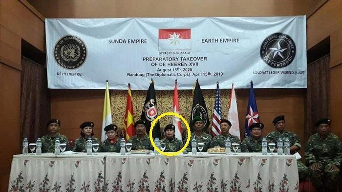 Bukan Rangga & Nasri Banks, Ternyata Ini Sosok 'Bunda Ratu Agung' Pemimpin Tertinggi Sunda Empire
