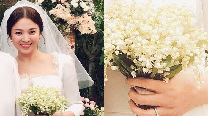 Buket Bunga Pernikahan Song Hye Kyo Disebut Seharga Rp 121 Juta Fakta Lain Terungkap Ternyata Tribunstyle Com