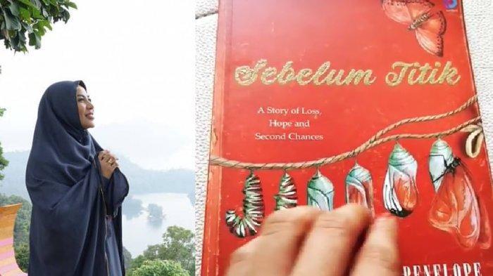Cinta Penelope merilis buku Sebelum Titik
