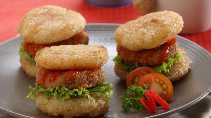 Burger Ketan