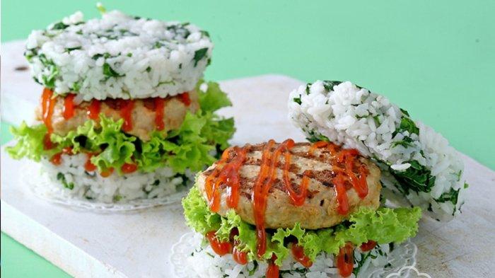 Burger Nasi Ayam