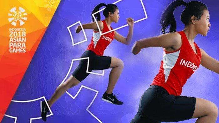 LIVE STREAMING - Cabang Olahraga Atletik Kontingen Indonesia di Asian Para Games 2018 Jam 16.00 WIB