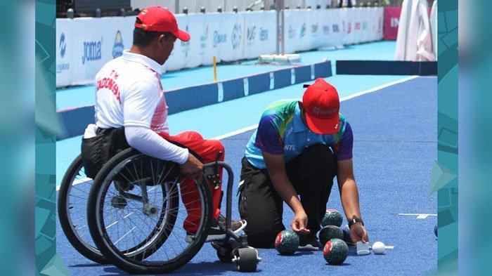 LIVE STREAMING Pertandingan Cabang Olahraga Lawn Bowls Asian Para Games 2018 di Vidio.com Channel 1