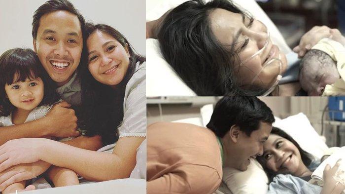Lahirkan Putri Kedua Secara Normal, Caca Tengker Berlinang Air Mata, Tulis Pesan Haru Untuk Keluarga