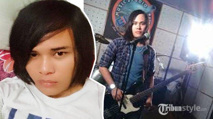 Calvin Dores lelang <a href='https://manado.tribunnews.com/tag/gitar' title='gitar'>gitar</a> peninggalan <a href='https://manado.tribunnews.com/tag/deddy-dores' title='DeddyDores'>DeddyDores</a>.