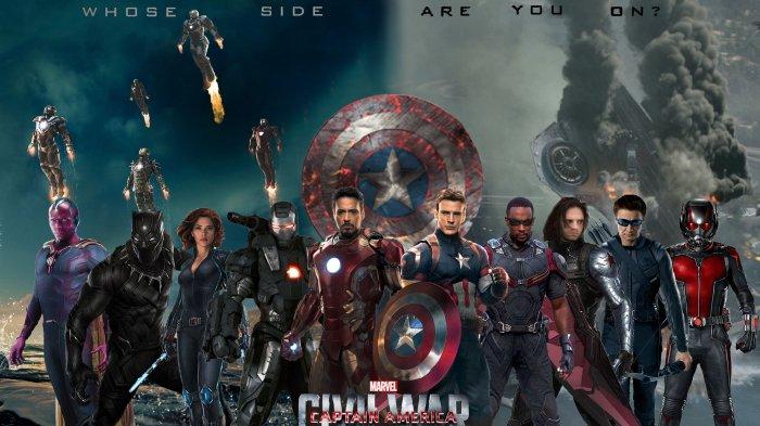Sinopsis Captain America: Civil War, Perang di Dalam Tim Avengers, Saksikan Malam Ini