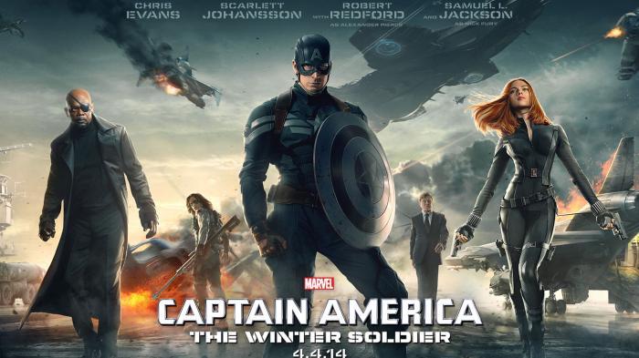 Sinopsis Film Captain America: Winter Soldier, Selasa 5 Maret 2019 GTV 21.00 WIB, Sang Kapten Diuji!