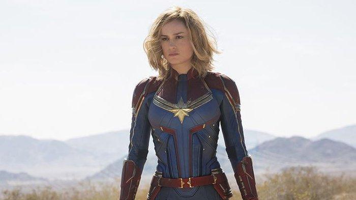 Captain Marvel, diperankan Brie Larson.