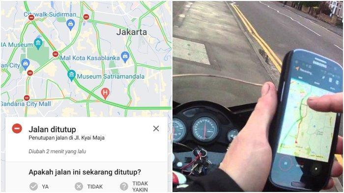 Cara Cek Titik Penyekatan Jalan Selama PPKM Darurat Pakai Google Maps, Pantau Agar Tak Kena Cegatan