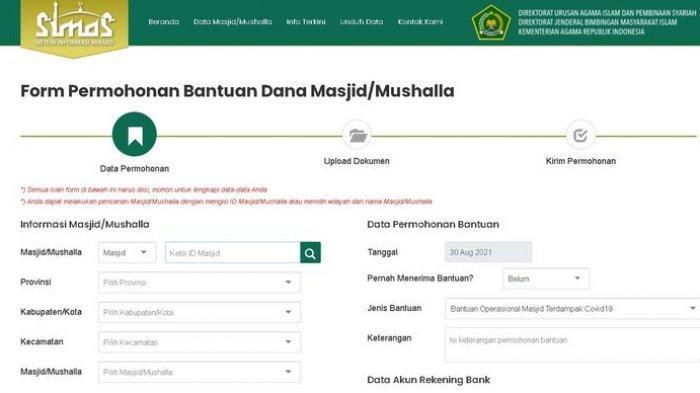 Masjid dan Mushala Bisa Dapat Bantuan Rp 20 Juta dari Kemenag, Ini Cara Daftar dan Simak Syaratnya