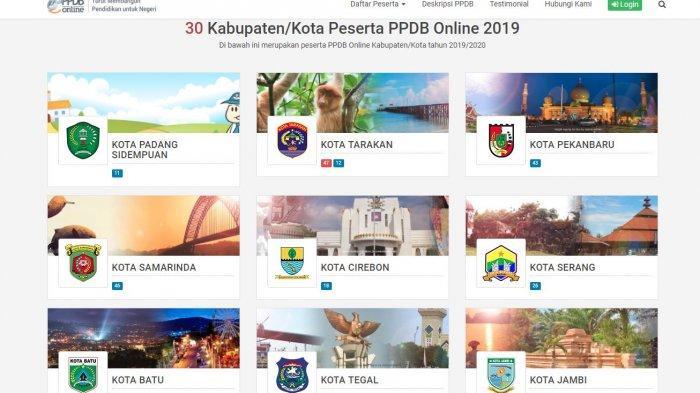 PPDB Online 2019 Segera Dibuka, Ini Daftar 6 Provinsi & 30 Kabupaten/Kota Peserta PPBD Online 2019
