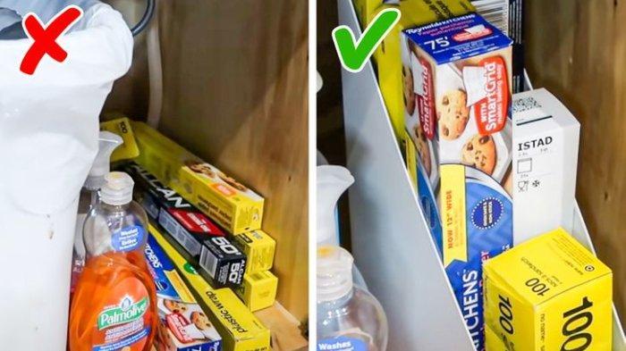 Trik Merapikan Barang-barang di Dapur, Menata Bumbu, Tutup Panci Hingga Kotak Makan yang Benar