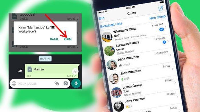 Cara Mengirim Gambar di WhatsApp Tanpa Mengurangi Kualitas, Dijamin Foto yang Dikirim Kualitas Penuh