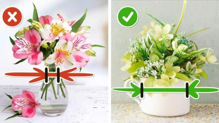 10 Trik Menata Bunga Asli agar Segar Tahan Lama, Perhatikan Pot dan Cara Potongnya