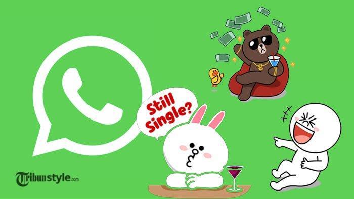Cara Unduh Stiker Line Untuk Whatsapp Begini Cara Buat Stiker Wa Sendiri Di Iphone Android Halaman All Tribunstyle Com