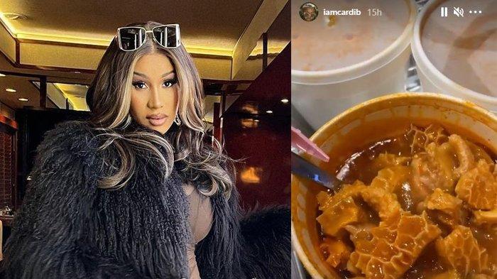 Heboh Cardi B Unggah Makanan Gulai Babat, Ini Kuliner Indonesia yang Pernah Masuk Instastory-nya