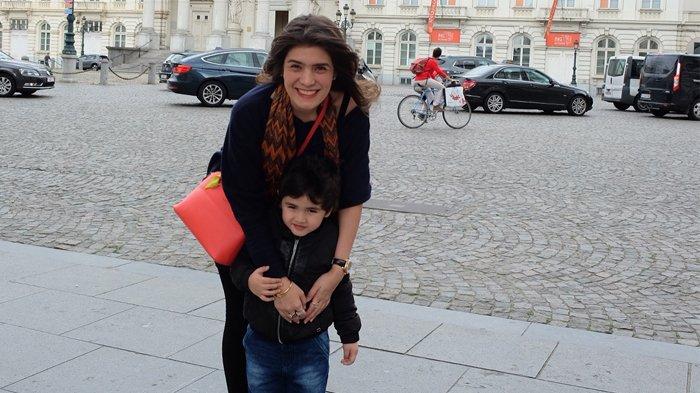 Carissa Puteri dan anaknya, Quenzino.
