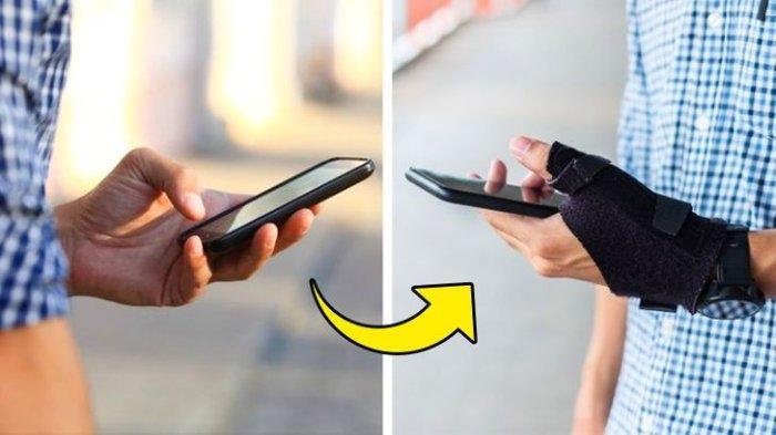 7 Cedera yang Dikarenakan Smartphone, Terjadi di Jari Hingga Siku Begini Cara Mengatasinya