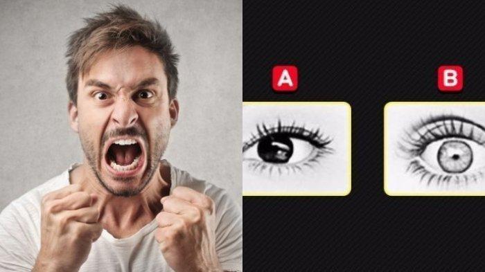 Cek Kepribadian - Pilih 1 dari 3 Mata yang Menunjukkan Kemarahan, Jawaban Dapat Tunjukkan Sifat Asli