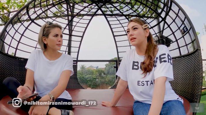 Celine Evangelista bicara soal rumah tangganya dengan Stefan William kepada Nikita Mirzani