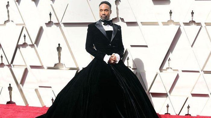 Gaun Tuksedo Billy Porter di Red Carpet Oscar 2019 Curi Perhatian Dunia, Begini Kisah di baliknya