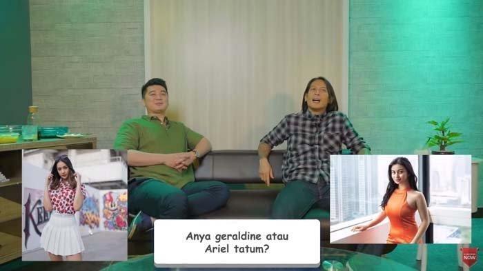 Chef Juna Syok Diminta Chef Arnold Pilih Anya Geraldine Atau Ariel Tatum: Aduh, Jangan Baper Ya!