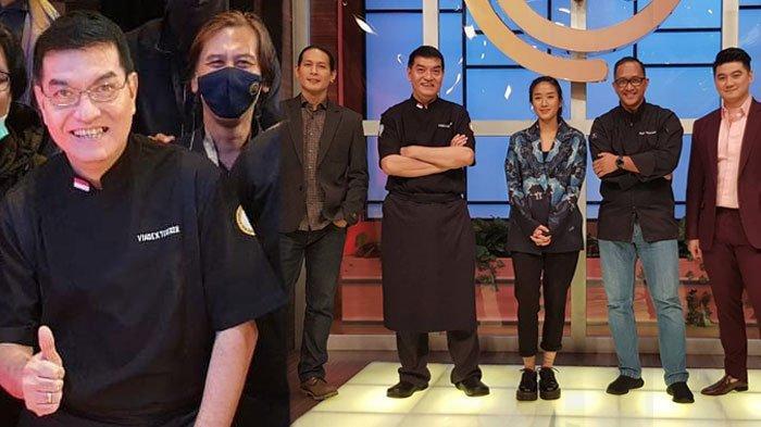 SIAPA Chef Vindex Tengker? Beri Tantangan Risotto Bubur Manado di Grand Final Masterchef Indonesia 7