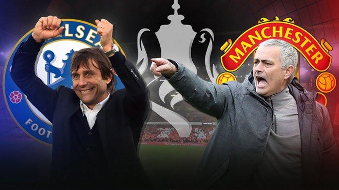 Jadwal Siaran Langsung (Live): Chelsea Vs Manchester di Final FA Cup 2018 - Tak Siaran di TV!