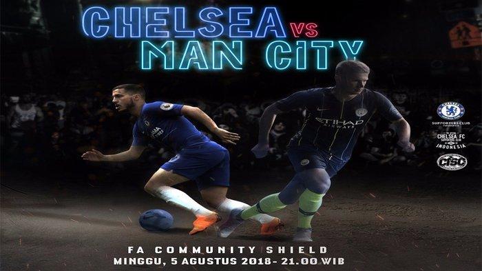 Live Streaming Chelsea FC Vs Manchester City Minggu Jam 21.00 WIB, Tak Tayang di TV, Tonton Disini!