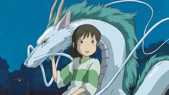 Chihiro dalam anime Spirited Away.