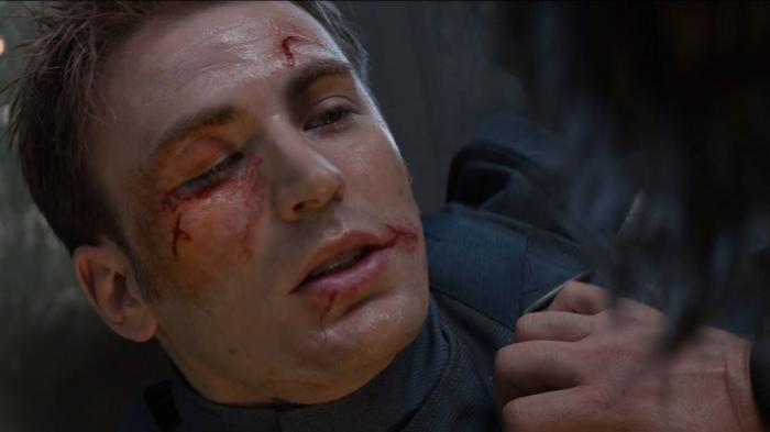 Chris Evans dalam Film Captain America : The Winter Soldier