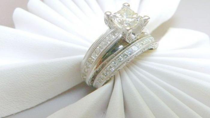 (Ilustrasi) Cincin Pernikahan