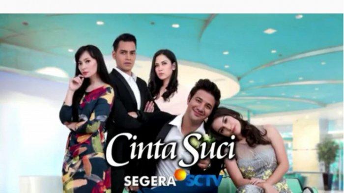 Sinopsis Sinetron Cinta Suci SCTV Minggu 6 Januari 2019, Bunga Cemburu Aditya Dekat dengan Monica