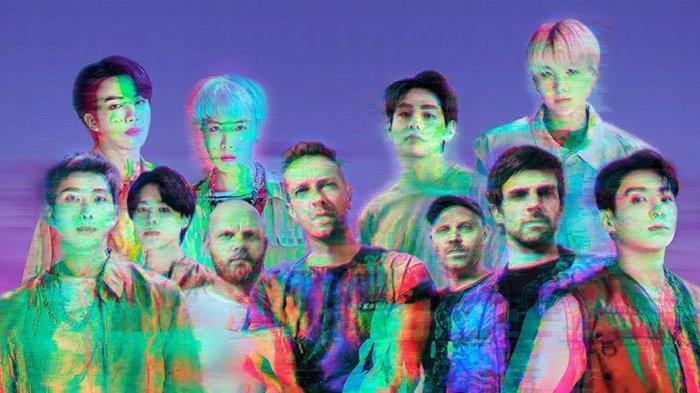 Coldplay dan BTS kolaborasi di lagu My Universe.