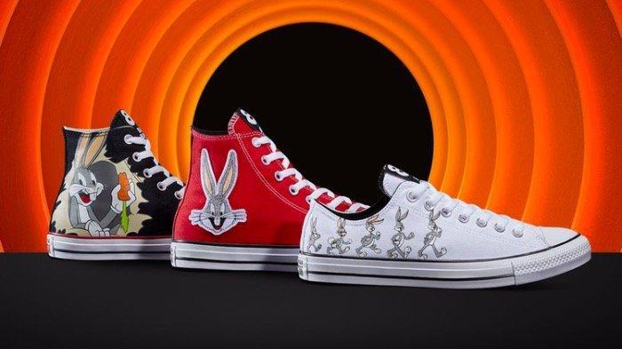 Converse Berkolaborasi dengan Looney Tunes, Rilis Sepatu Edisi Ulangtahun Bugs Bunny