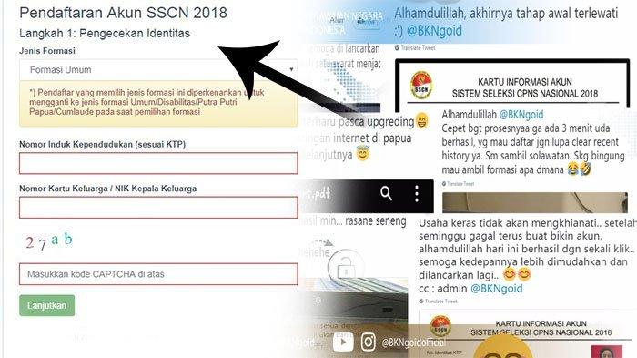 Ditutup Seminggu Lagi, Kemenpan RB Rilis Perubahan Syarat Pendaftaran CPNS 2018 di sscn.bkn.go.id