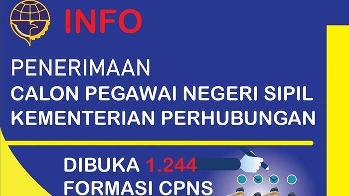 Pendaftaran Cpns 2021 Perhubungan - Informasi CPNS/ASN ...