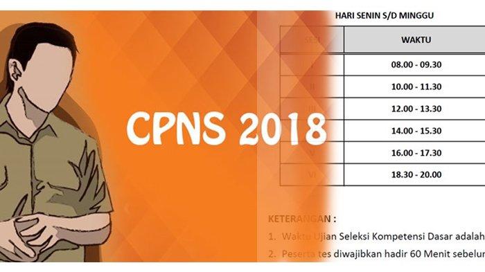 Lolos Seleksi Administrasi CPNS 2018 di Kemenpan RB? Ini Lokasi & Waktu Tes SKD, Cek Linknya di Sini