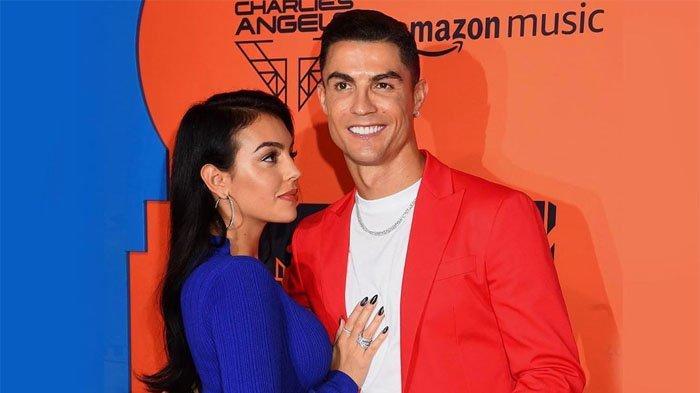 Cristiano Ronaldo dan sang kekasih, Georgina Rodriguez