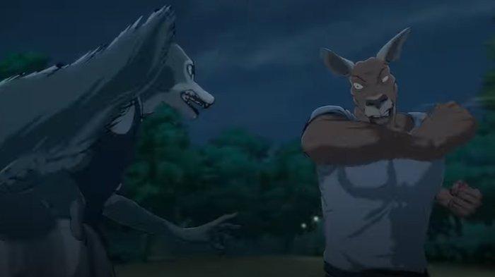 Cuplikan anime Beastars season 2.