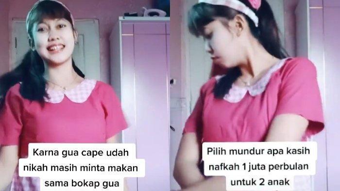 Ummah, istri di Bogor, Jawa Barat yang tantang suami cerai atau beri nafkah 1 juta