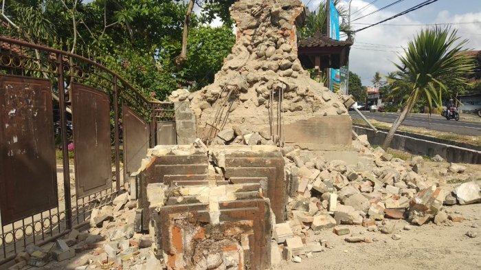 Dampak Gempa Situbondo 6,4 SR Hari ini, 27 Titik Kerusakan di Jembrana Bali