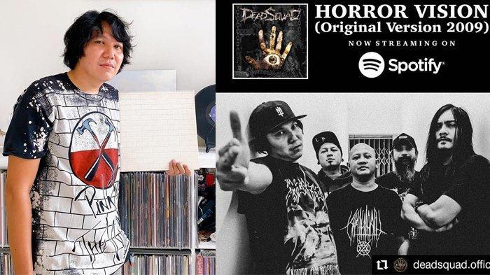 Vokalis Deadsquad, Daniel Mardhany Terjerat Narkoba, Postingan Terakhir jadi Sorotan, Banjir Doa
