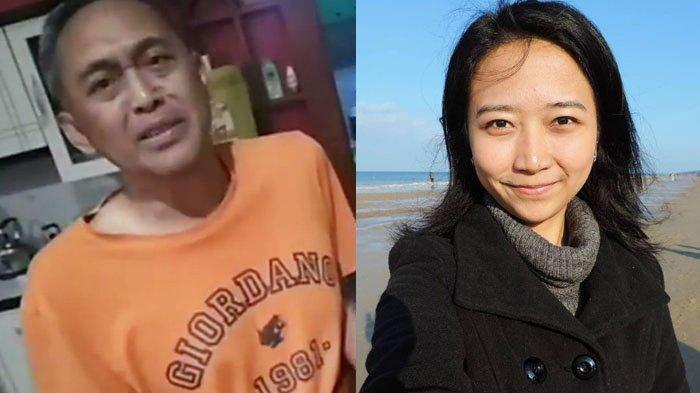 Dari kiri: Dadang Subur alias Dewa Kipas dan GM Irene Sukandar.